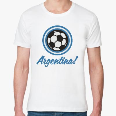 Футболка из органик-хлопка Аргентина