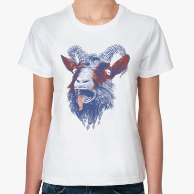 Классическая футболка Козел