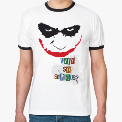 Футболка Ringer-T   Joker
