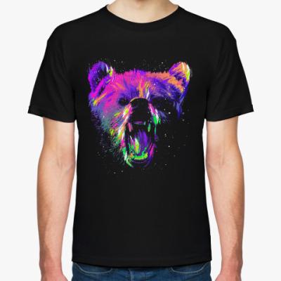 Футболка Абстрактный медведь