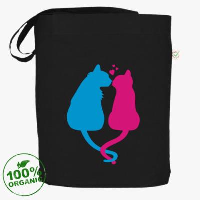 Сумка Кот и кошка