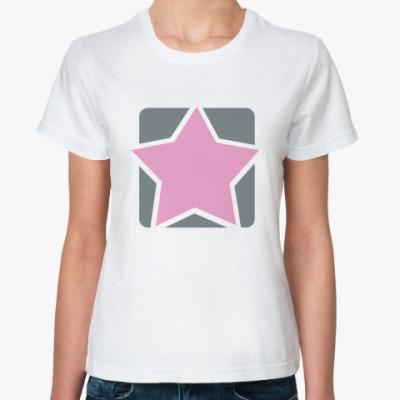 Классическая футболка PinkStar