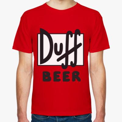 Футболка Duff  beer