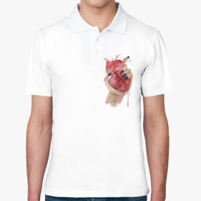 Рубашка поло Сердце в руке