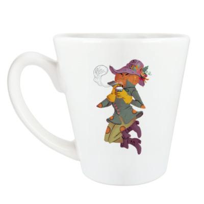Чашка Латте Джек Фонарь