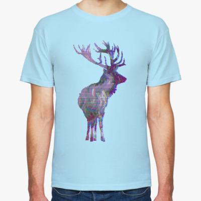 Футболка 8bit deer.