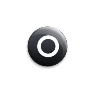 Значок 25мм Playstation Button