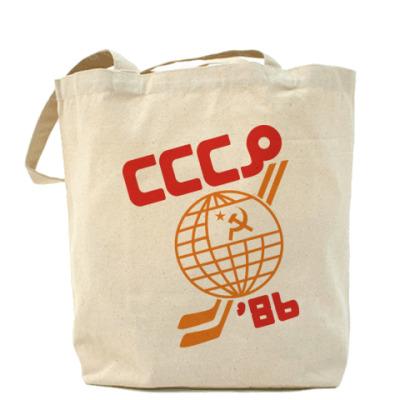Сумка Холщовая сумка СССР 1986
