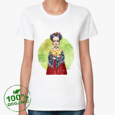 Женская футболка из органик-хлопка Фрида