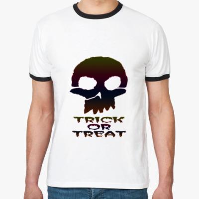 Футболка Ringer-T Trick Or Treat