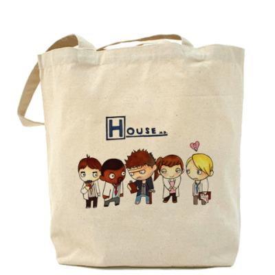 Сумка House mult Холщовая сумка