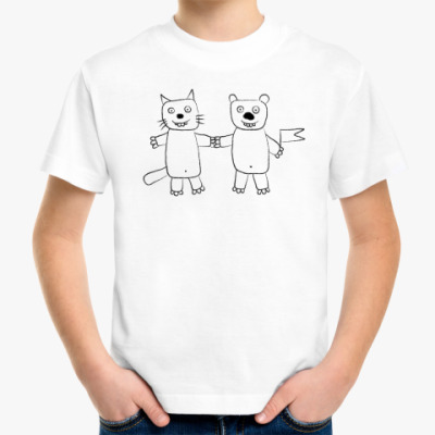Детская футболка 'Друзья'