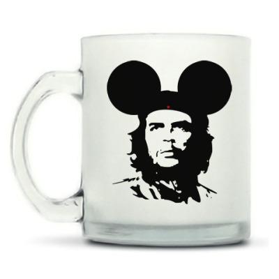Кружка матовая  Mickey Mouse Che Guevara