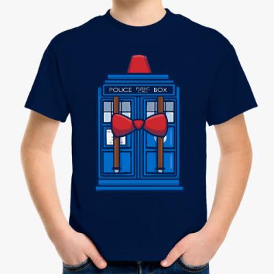 Детская футболка Одиннадцатый Доктор
