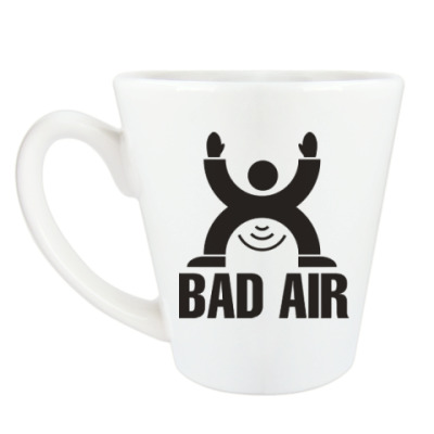 Чашка Латте Плохой воздух