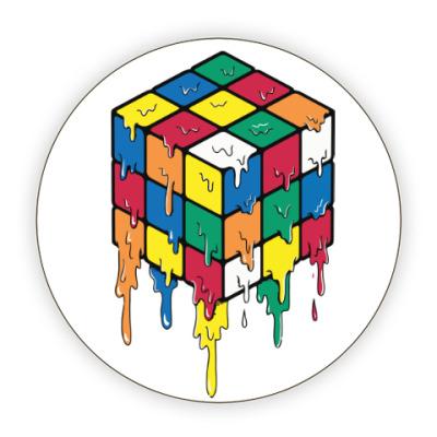 Костер (подставка под кружку) Кубик Рубика | Спидкубинг