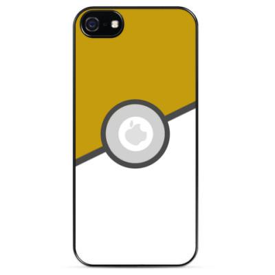 Чехол для iPhone Покебол (Pokeball)