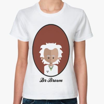 Классическая футболка Назад в Будущее