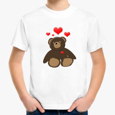 Детская футболка Мишка Детская футболка