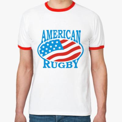 Футболка Ringer-T Регби США
