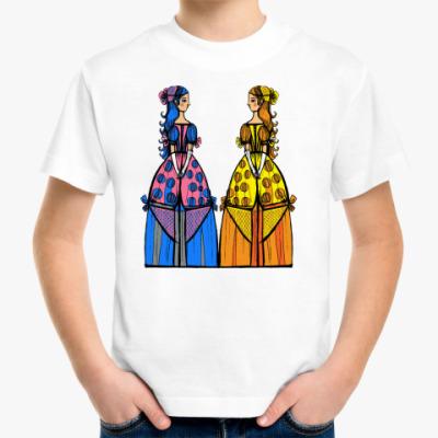 Детская футболка Девушки
