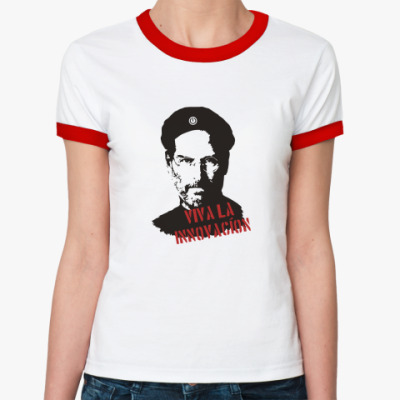 Женская футболка Ringer-T Джобс