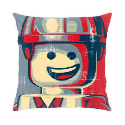 Подушка Лего Строитель
