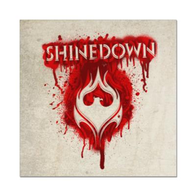 Наклейка (стикер) Shinedown