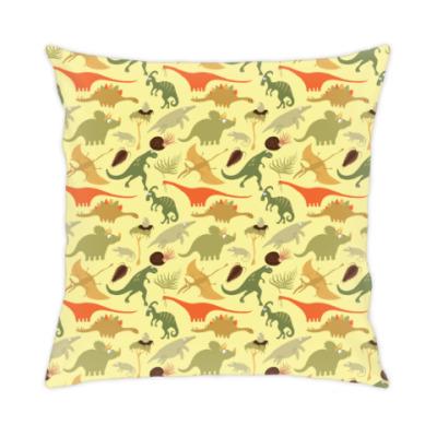 Подушка Динозавры