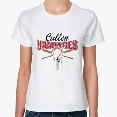 Классическая футболка Cullen vampires