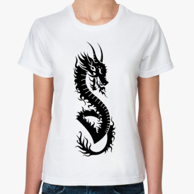 Классическая футболка Chinese Dragon