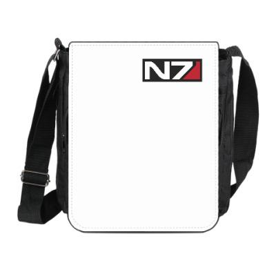Сумка на плечо (мини-планшет) Код Альянс из игры 'Mass Effect'