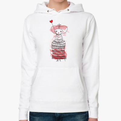 Женская толстовка худи Queen of Hearts, Alice's Adventures in Wonderland