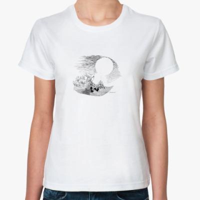 Классическая футболка Снусмумрик и новая песня
