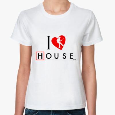 Классическая футболка House love