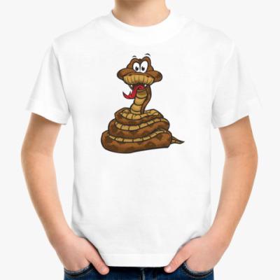 Детская футболка Змея