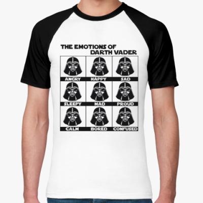 Футболка реглан Star Wars Darth Vader Emotions