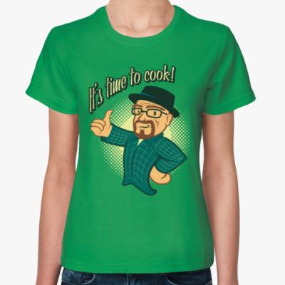 Женская футболка Heisenberg