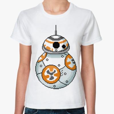 Классическая футболка BB-8 (Звездные Войны)