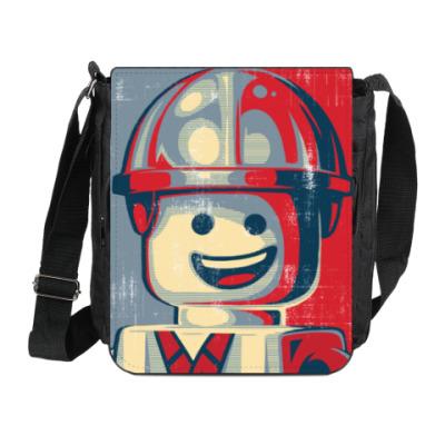 Сумка на плечо (мини-планшет) Лего Строитель