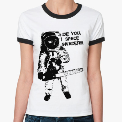 Женская футболка Ringer-T   INVADER