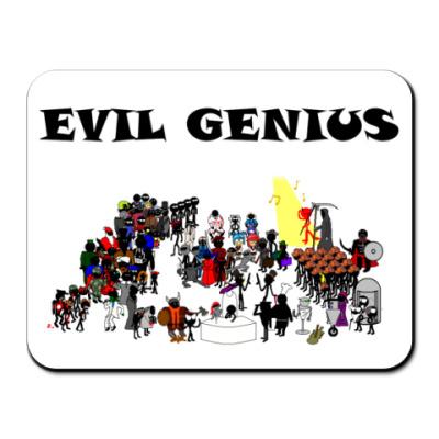 Коврик для мыши  Evil Genius