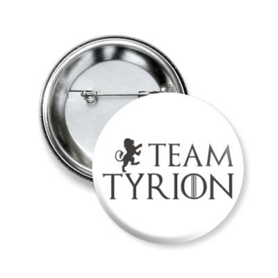 Значок 50мм Команда Тириона