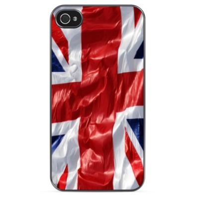 Чехол для iPhone Британский Флаг