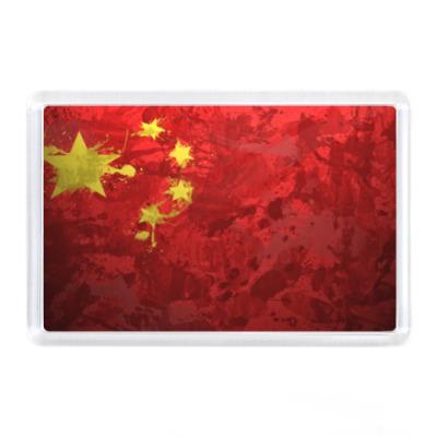 Магнит Флаг Китая