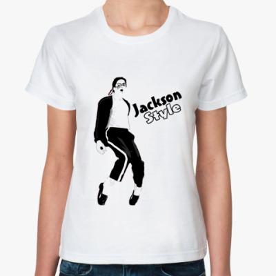 Классическая футболка Jackson Стайл