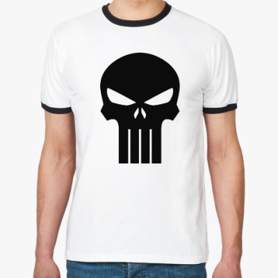 Футболка Ringer-T Punisher