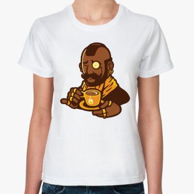 Классическая футболка Мистер Чай