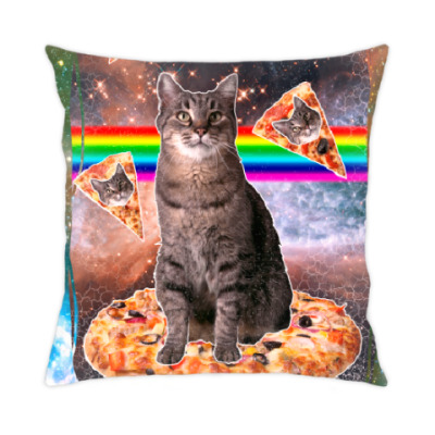Подушка Космический кот