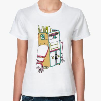 Классическая футболка Robotic